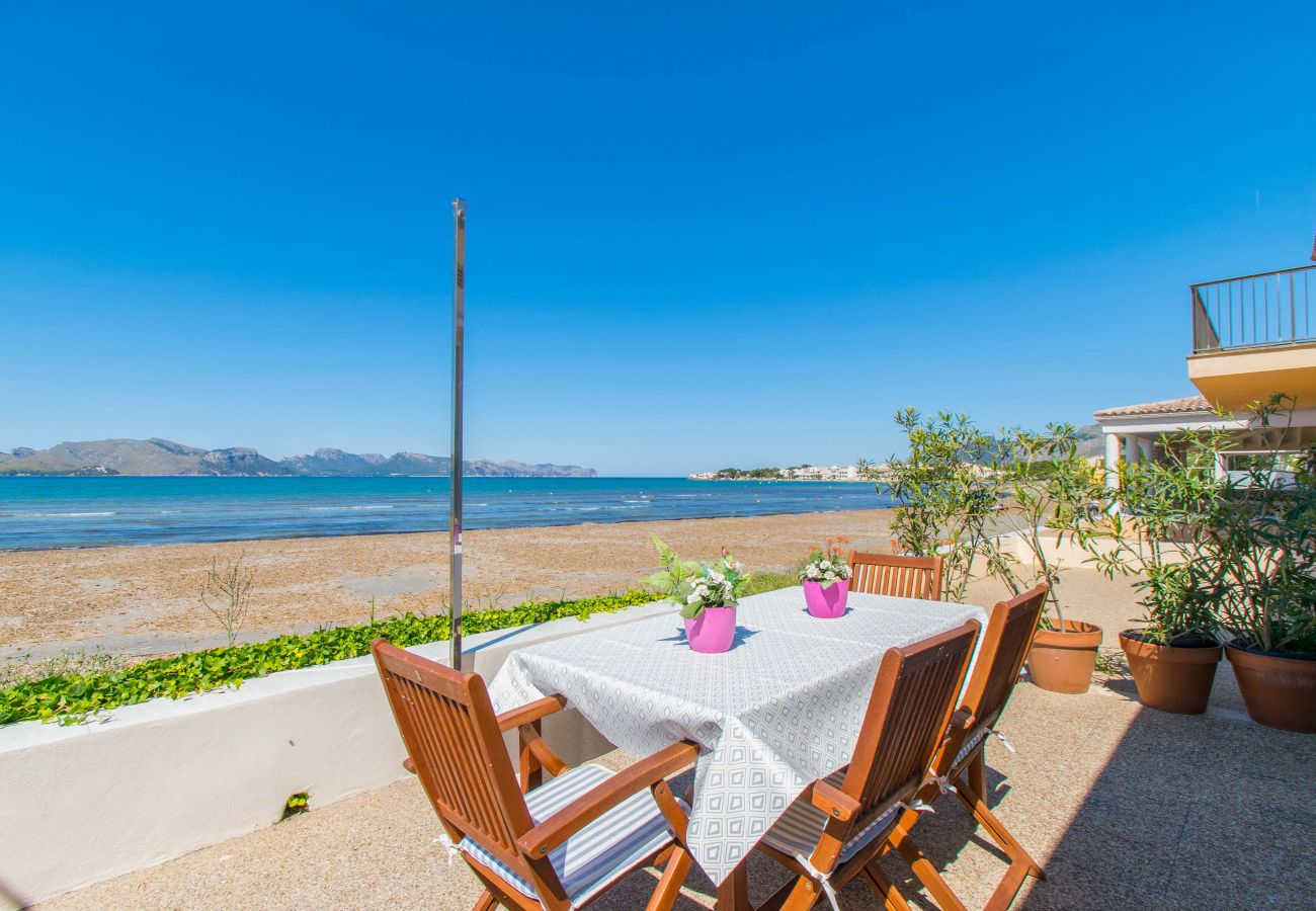 Villa en Alcúdia - LA CALMA para 6 a 1m de el mar en Alcudia