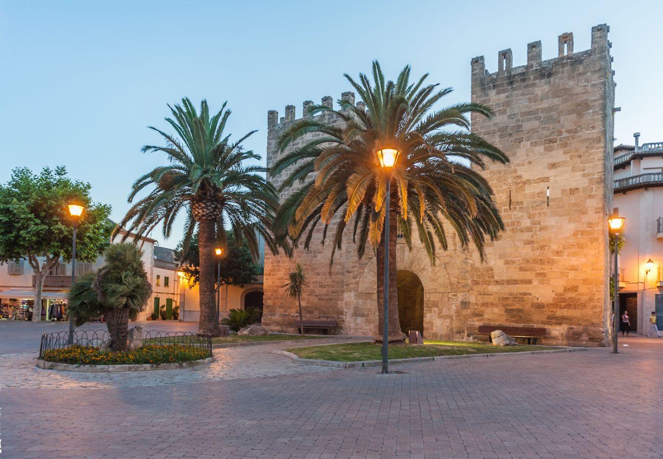 Villa en Alcúdia - CAN FRANCK Villa, 6 personas en Alcudia. AC y WiFi gratis.