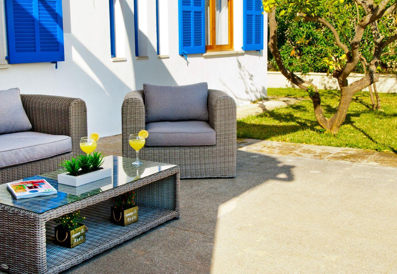 Villa en Playa de Muro - REUS Espaciosa casa para 8 personas en Playa de Muro