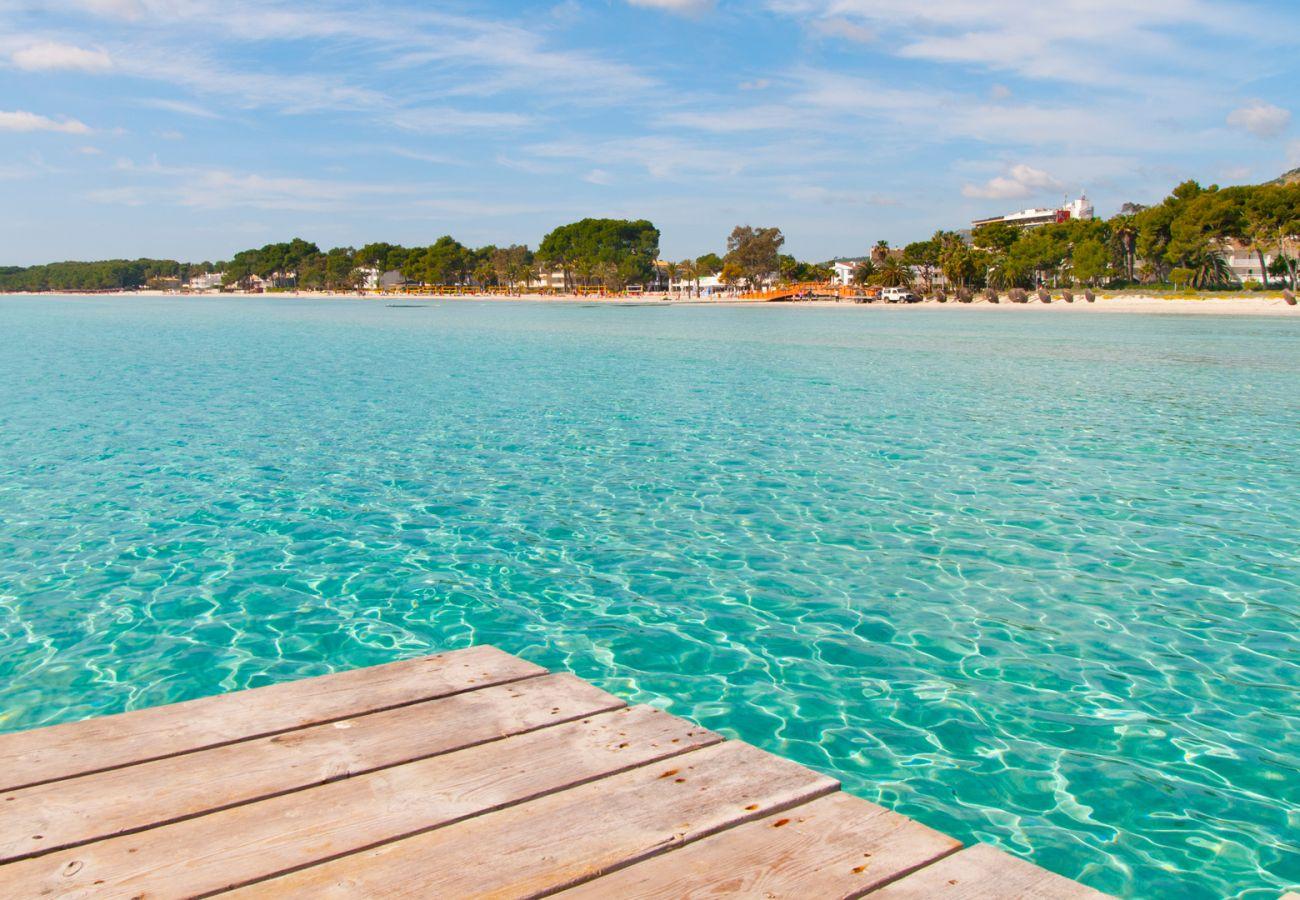 Villa en Port d´Alcudia - CORA Casa para 6 personas a 200 metros de la playa de Alcudia