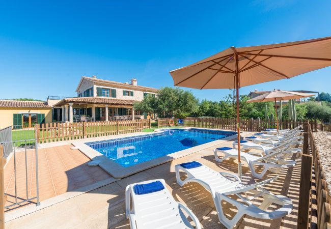 Finca en Palma de Mallorca - CAN VALERO :) Bonita finca para 10 personas en Palma. WiFi y AC