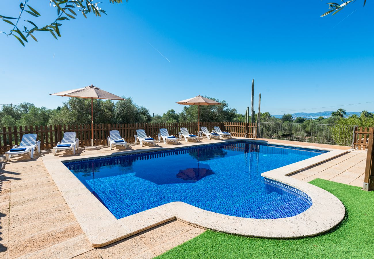 Finca en Palma de Mallorca - CAN VALERO para 12 personas en Palma con Piscina