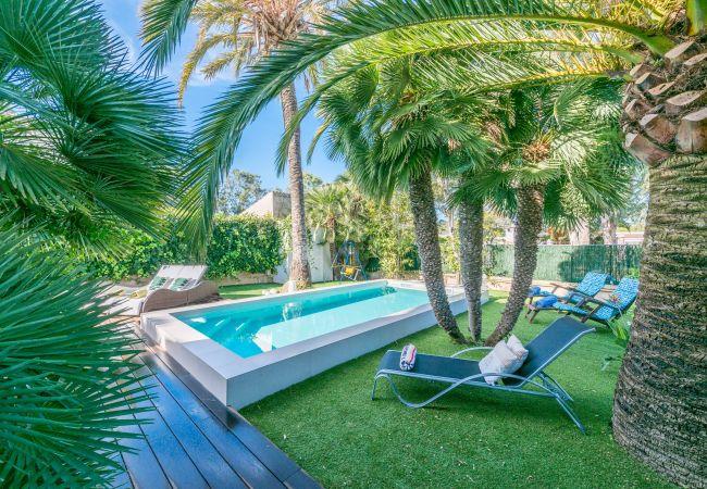 Apartamento en Muro - CANDY Apartamento para 4 con piscina en Playa de Muro