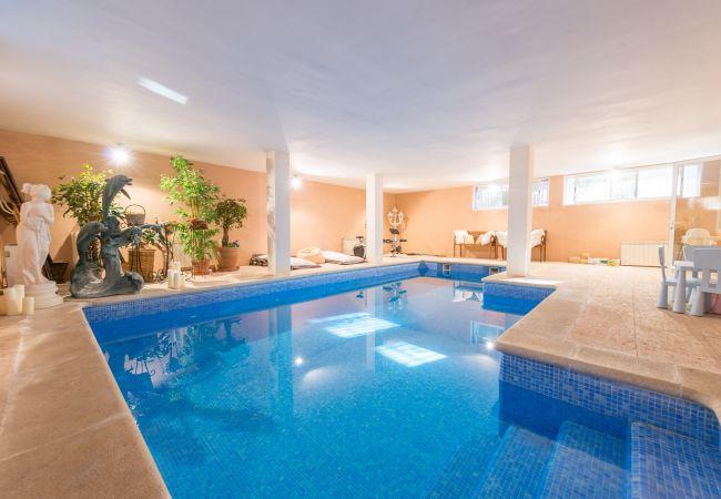 Villa en Alcúdia - RAN DE MAR :) Casa primera linea de mar para 8 personas en Puerto de Alcudia. WiFi y AC