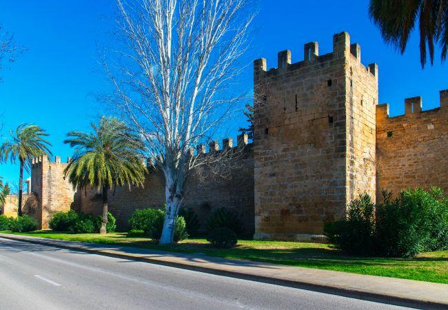 Casa en Alcúdia - QUARTER:) Casa de pueblo para 6 en Alcudia. WiFi y AC.