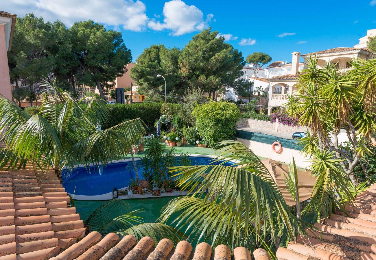 Apartamento 4 personas, piscina, playa, familia, Cala Ratjada, Mallorca