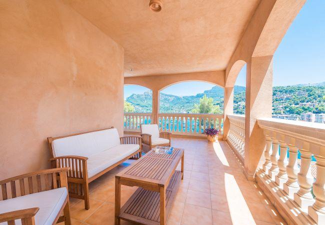 Villa en Sóller - SOLELLADA :) Casa para 9 personas con vistas al Puerto de Sóller