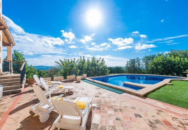 Villa en Bunyola - TRAMUNTANA Casa para 8 personas en Bunyola
