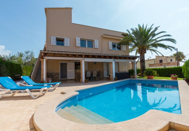 Villa en Cala Millor - ALZINA :) Coqueta villa para 9 en Cala Millor