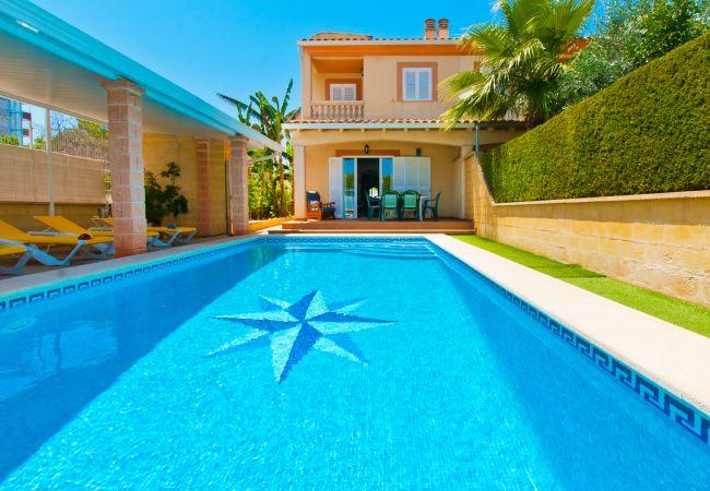 Villa en Alcúdia - SATURNINA :) Casa 8 personas Puerto de Alcudia