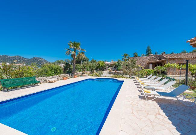 Villa en Cala Bona - GALARDO Finca para 6 a 150m de la playa en Port Verd