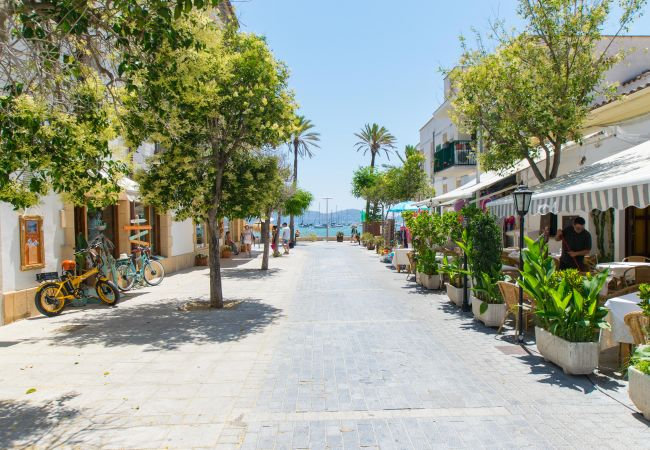Apartamento en Port de Pollença - LAUET Apartamento a 30m de la playa de Puerto Pollensa
