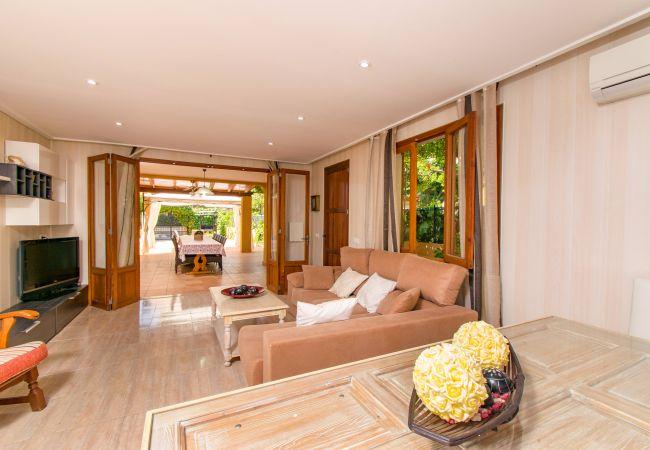 Casa adosada en Alcúdia - CARRASQUET Casa para 12 a 100m Playa de Alcudia