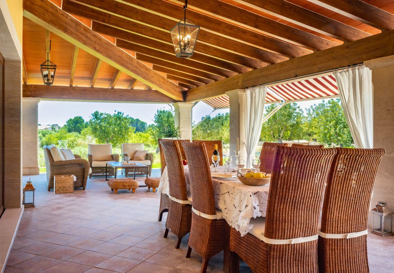 Finca en Santa Margarida - COSCOIS Finca para 6 con piscina en Santa Margarita