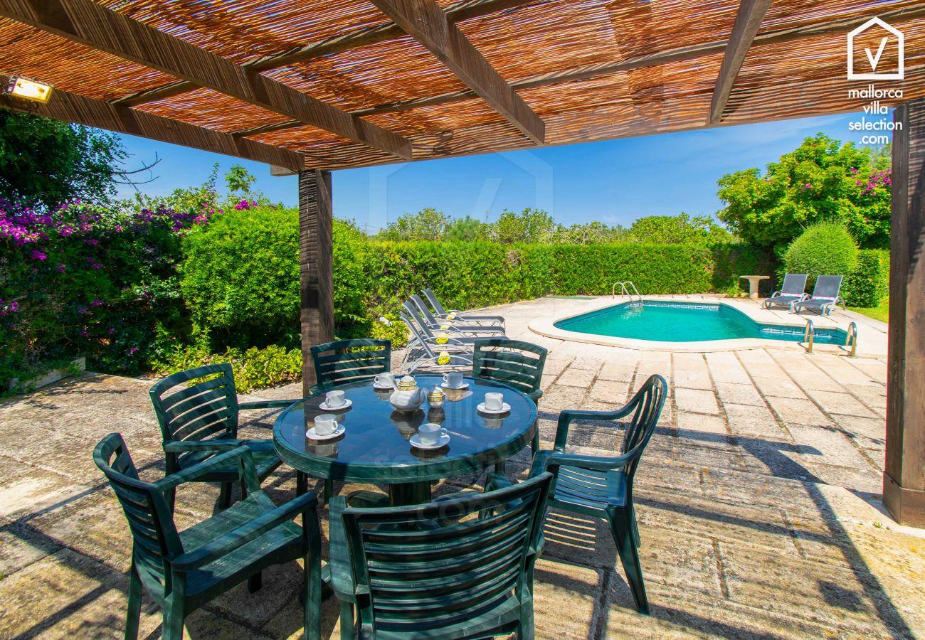 Finca en Alcúdia - Moli den Fanals para 6 con piscina en Alcudia