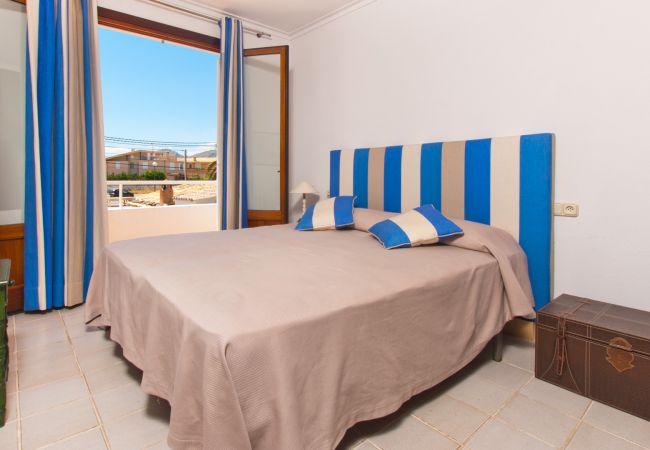 Ferienwohnung in Alcudia - PERICAS 2 :) Schöne Wohnung für 6 Personen in Es Barcares, Alcudia und kostenloses WiFi