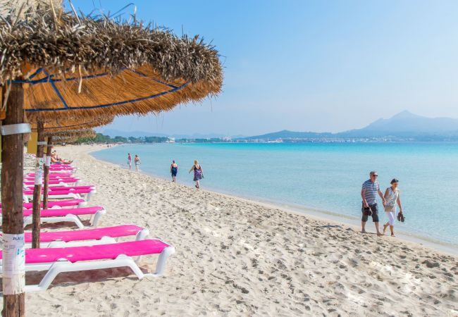 Ferienhaus in Alcúdia - SALZES III Reihenhaus für 6 Personen 50mtr vom Strand