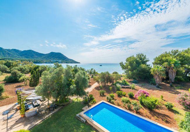Finca in Son Servera - ES RACONET Villa für 8 direkt am Strand