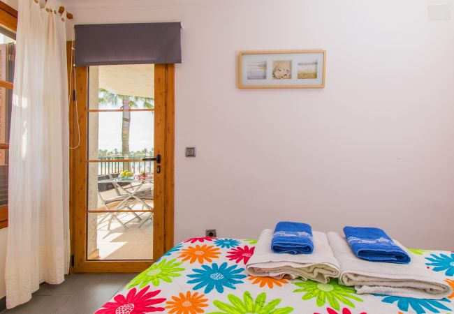 Ferienwohnung in Alcudia - ANGLADA :) Apartamento para 4 personas en primera línea de playa