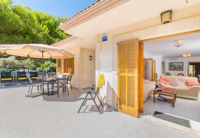 Ferienhaus in Playa de Muro - Villa Canta:) Haus für 8 in Playa de Muro