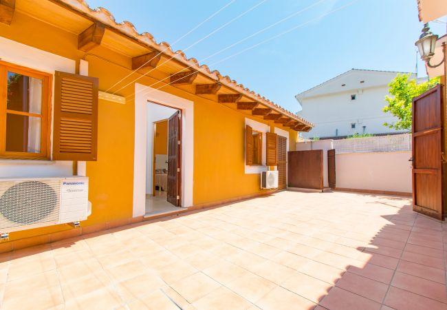 Reihenhaus in Alcudia - CARRASQUET Haus für 12 nur 100 Meter Playa de Alcudia
