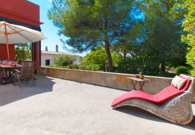 Villa in Alcudia - MORER VERMELL :) Villa for 8 people in Es Barcares, Alcudia. WiFi and AC