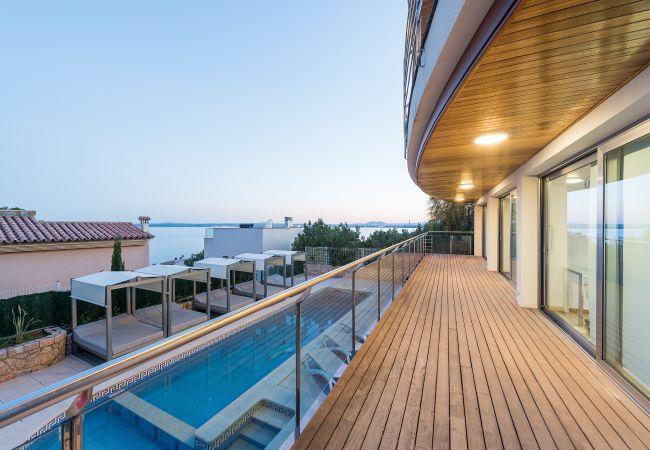 Villa in Alcudia - MIRAMAR :) Fabulous house for 10 people in Alcudia