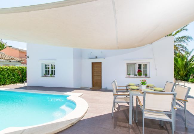 Villa in Alcudia - NICO :) House for 6 people with pool near the beach