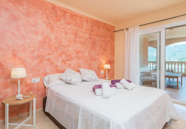 Villa in Sóller - SOLELLADA :) House for 9 people with views to Puerto de Soller