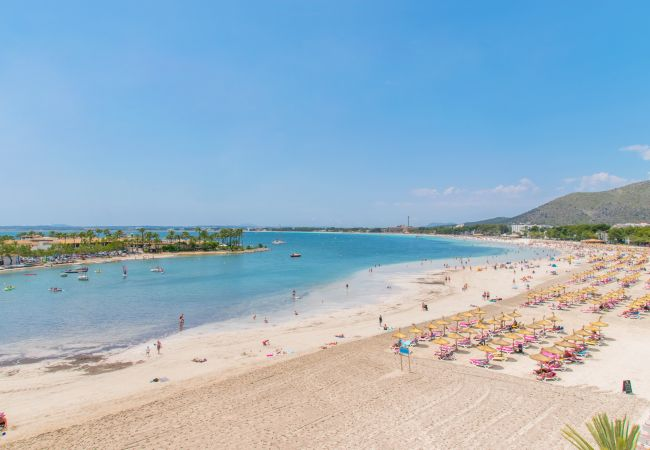 Apartment in Alcúdia - PINE BEACH:) Apt 4 people close to the beach
