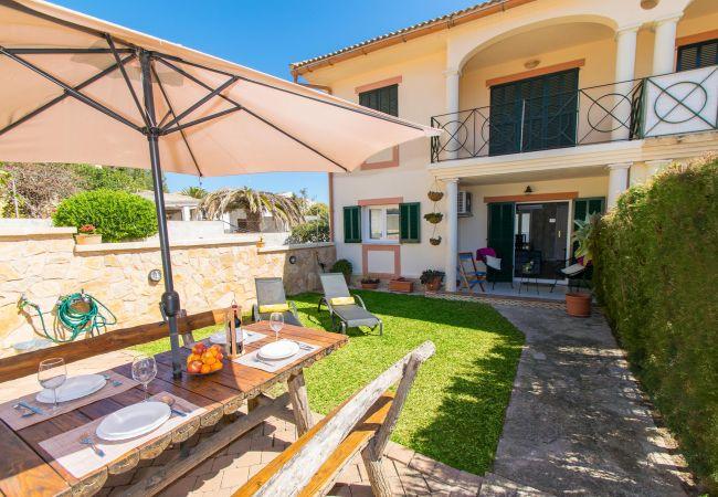 Townhouse in Capdepera - LA PERGOLA :) House for 4 people in Cala Ratjada